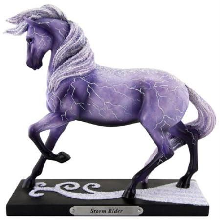 Storm rider - Trail of the Painted Ponies figurine.