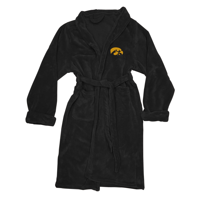 Iowa Hawkeyes Men s Silk Touch Plush Bath Robe 5461cace6