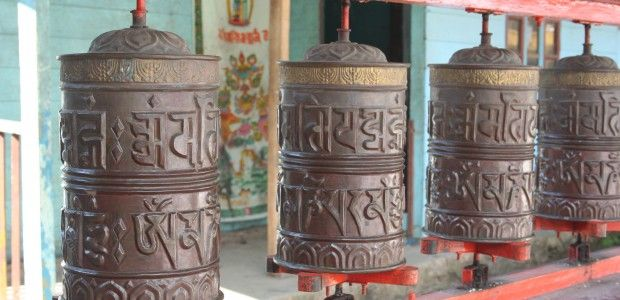 The Buddhist Bells. Live on here and now where the search of happiness beings. Om mani Padme Hum are inscribed in the bell which means (doubtful truth) may i be the Jewel in the heart of Lotus. To know about eastern world you are wel come. we will take you on most spiritual centers ...