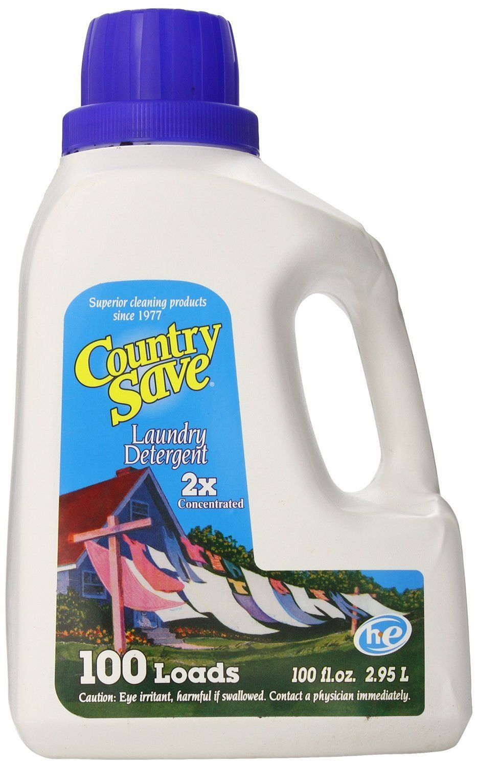 Country Save Liquid Laundry Detergent 100load 100 Ounce Bottles