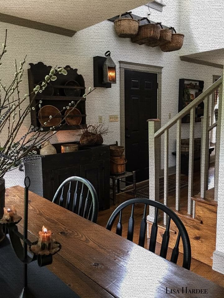 Primitive Home Decor Part - 18: Primitive Home | Home Decor | Pinterest | Primitives, Primitive Dining  Rooms And House