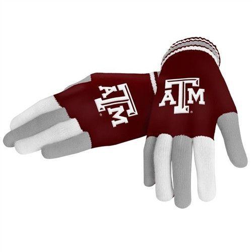 Texas A&M Aggies Multi Color Team Knit Glove