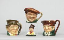 Set of 4 Royal Doulton Miniatures