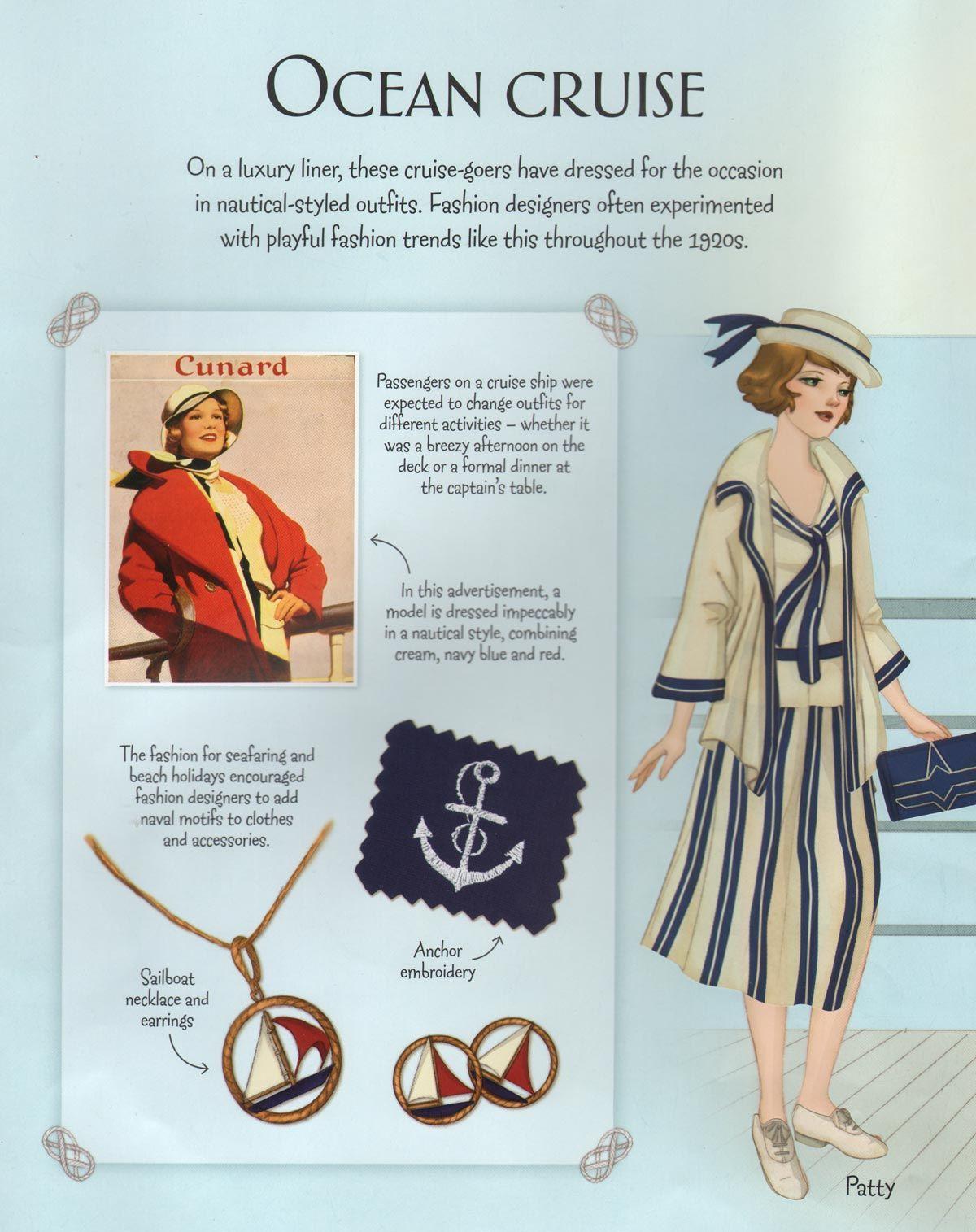 Downton Abbey Fashion Era - Twenties Style - Ocean Travel | Fashion ...