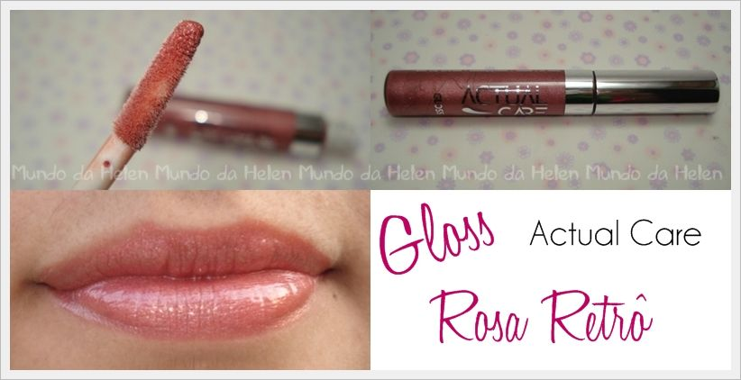 Gloss Rosa Retrô  by Actual Care http://wp.me/p1x69g-1dl