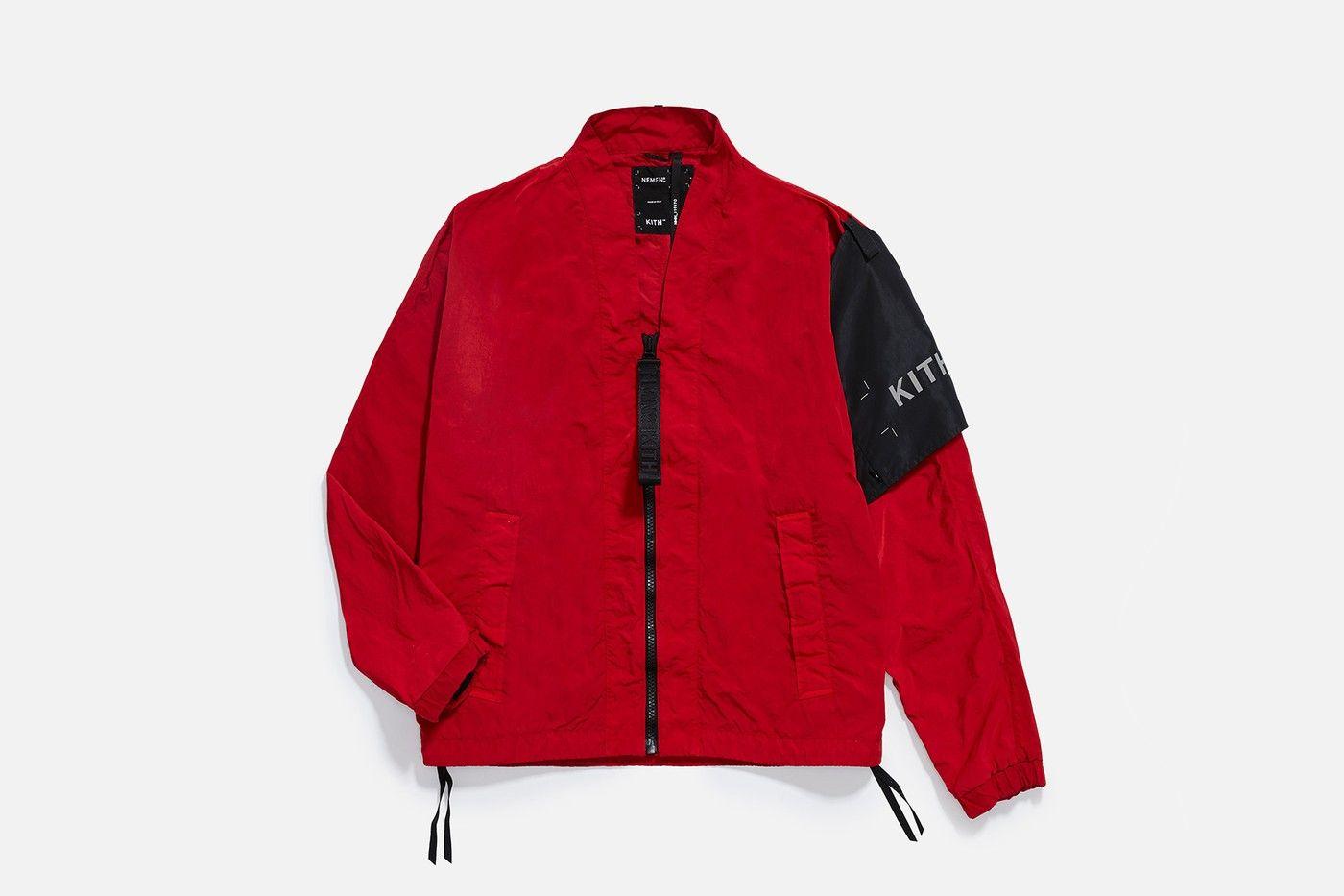 Kith Nemen S Tie Dye Capsule Athletic Jacket Puma Jacket Menswear [ 933 x 1400 Pixel ]
