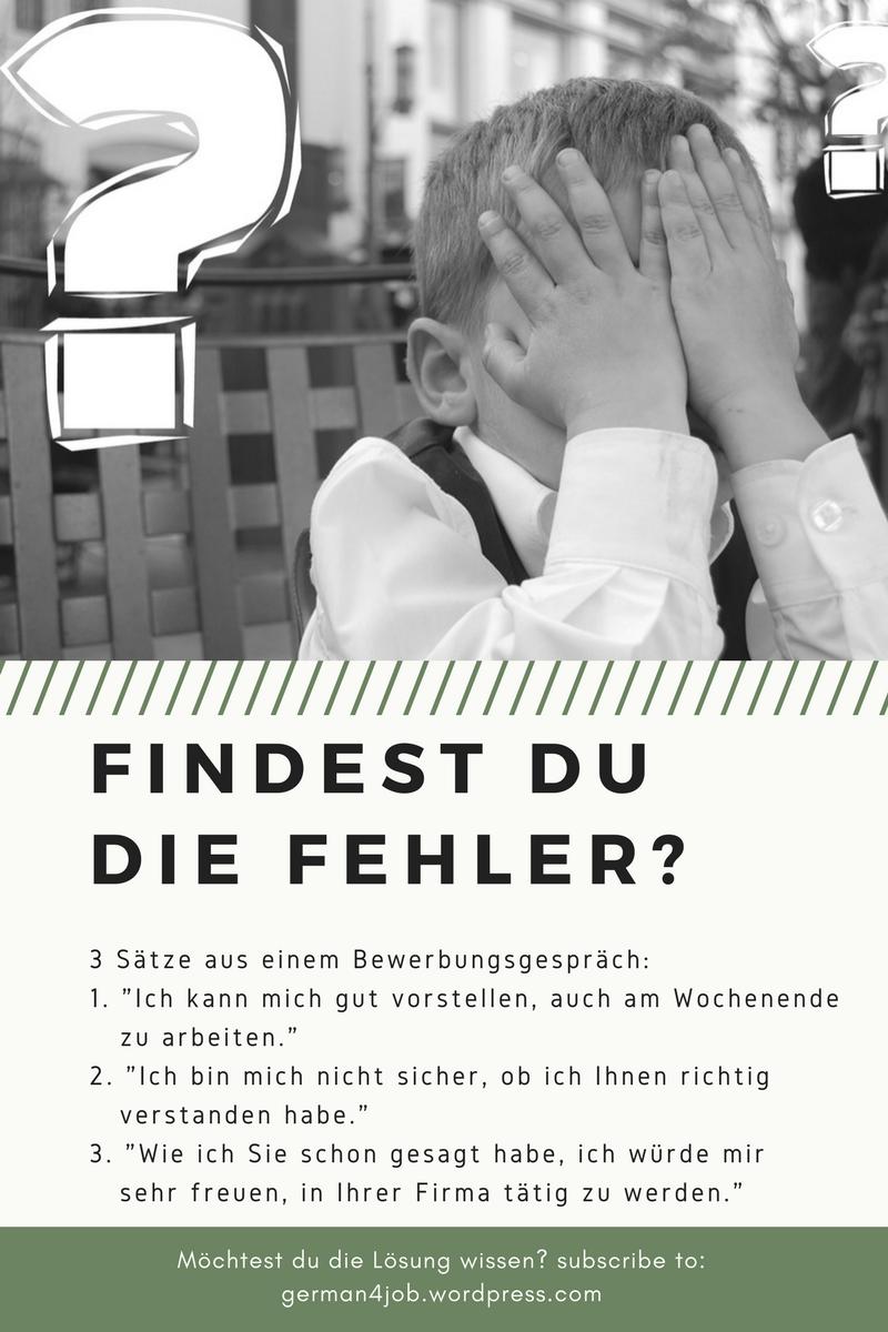 Bewerbungsgespräch Deutsch job interview german   German language ...