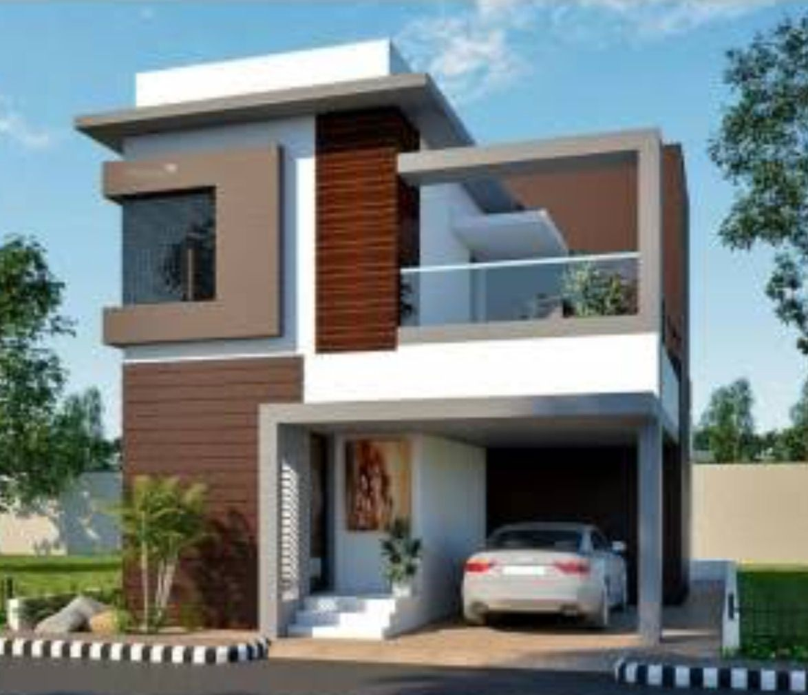 Two Floors House Small Modern House Plans Affordable House Plans Modern House Plans