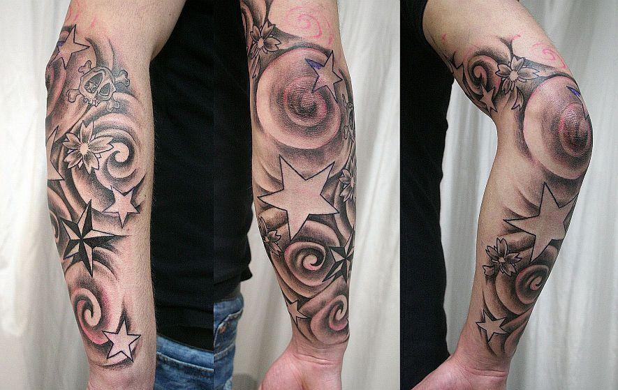 Star Wind Tattoos Tattoos Arm Tattoo Et Sleeve Tattoos
