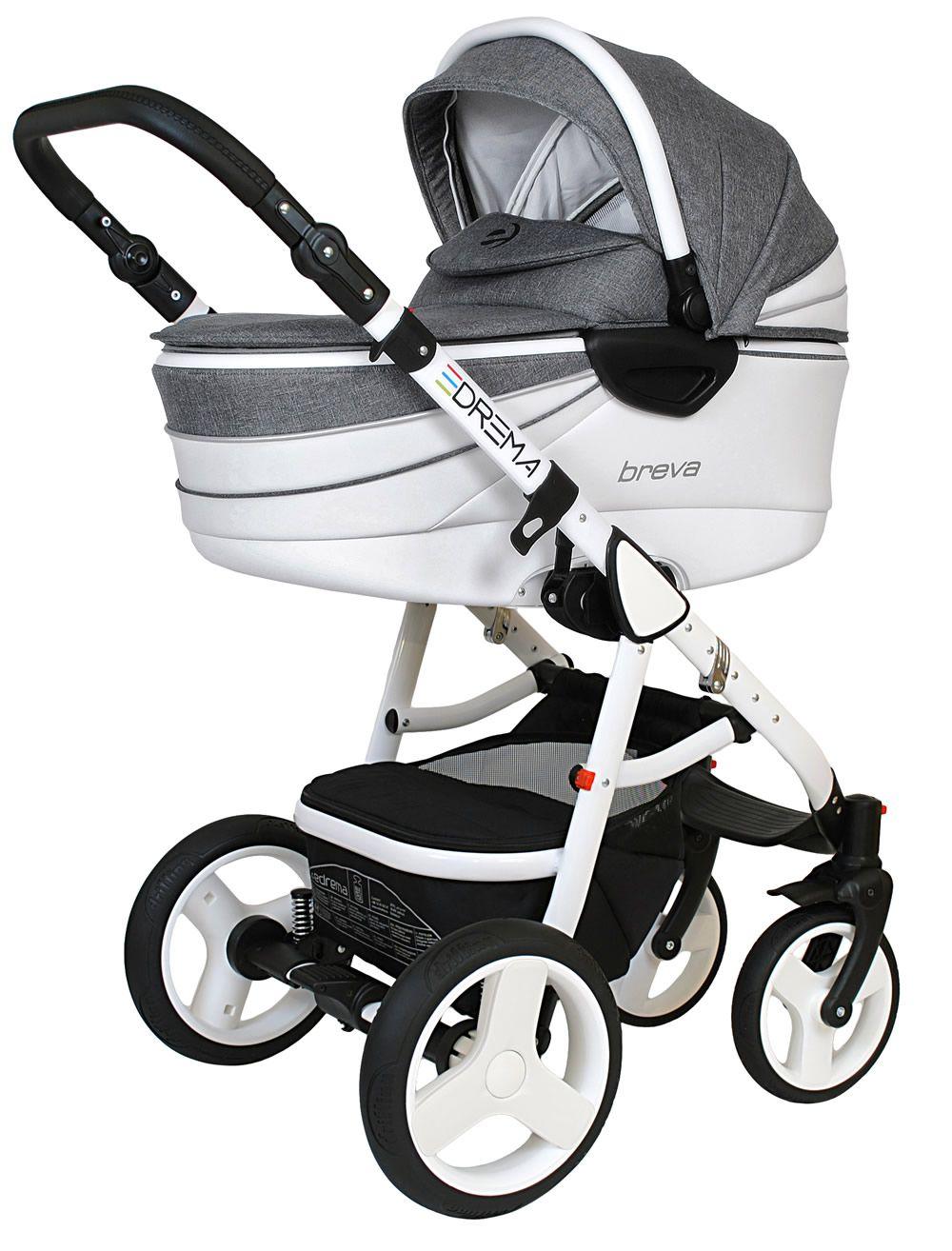 Breva Premium Kombi-Kinderwagen 3 in 1 mit Babyschale   BP1-breva-prem 66a8f19845