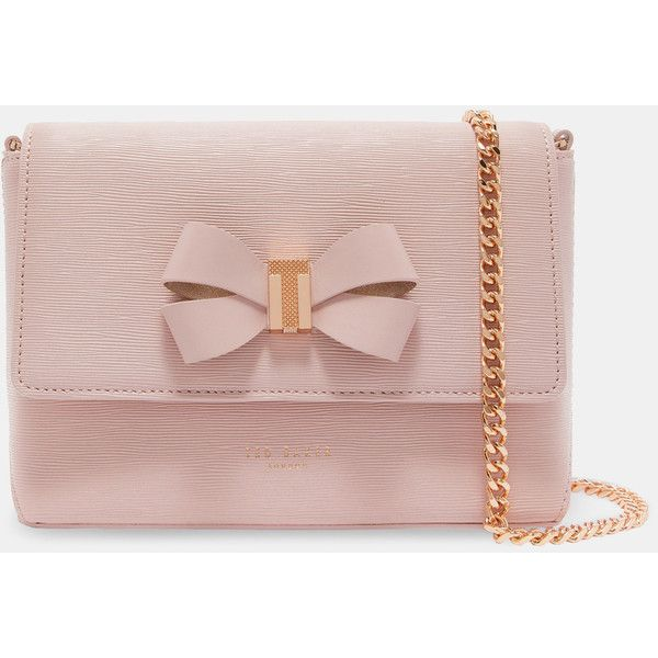 01e1b6033 Ted Baker Bow detail cross body bag ($195) ❤ liked on Polyvore featuring  bags