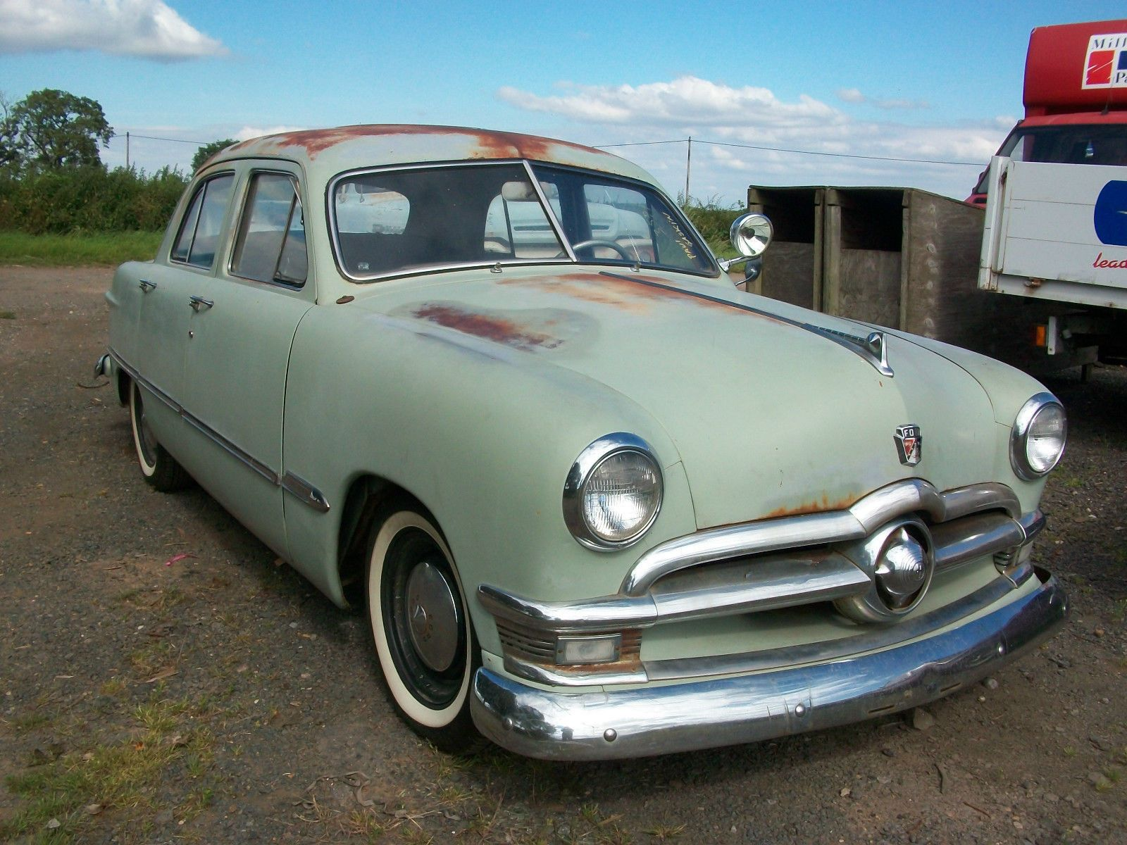 1950 Ford Shoebox Sedan Flathead V8 Original Patina Classic American Ebay Ford Shoebox Shoe Box Sedan