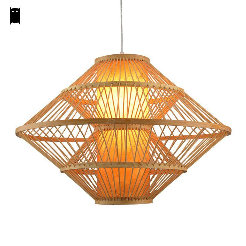 Bamboo wicker rattan pendant ceiling light fixture asian rustic lamp bamboo wicker rattan pendant ceiling light fixture asian rustic lamp chandelier soleilchat asian aloadofball Images