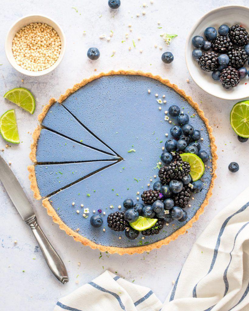 Blueberry Ocean Tart - The Tasty K
