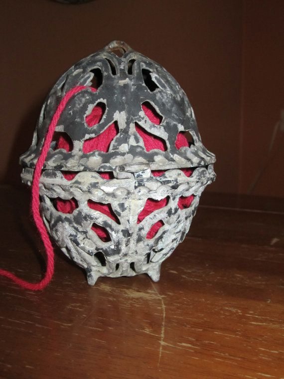 Vintage Iron Yarn Holder by TheVintageScavenger on Etsy, $20.00