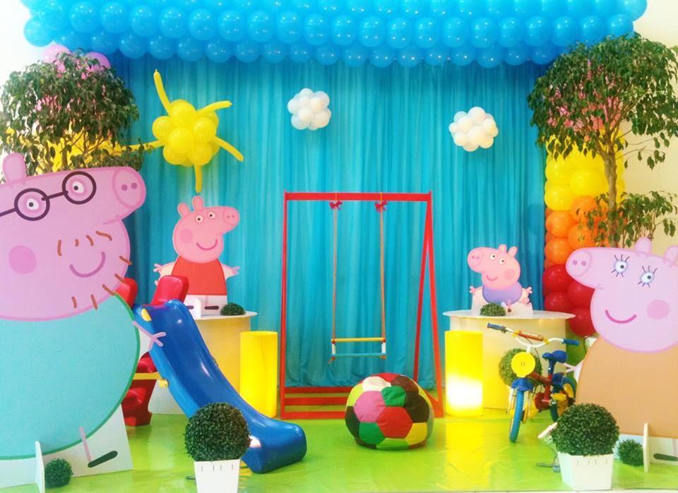 Peppa Pig - Muita Festa Decorações