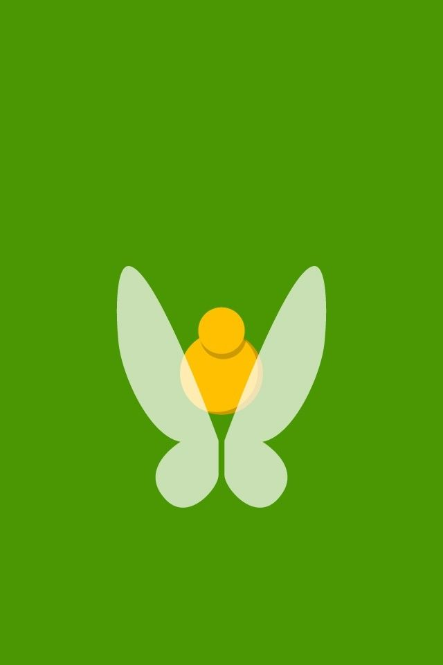 Tinkerbell ★ Find more minimalistic and Disney wallpapers ...