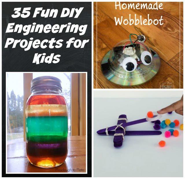 35 Fun Diy Engineering Projects For Kids Kindergarten