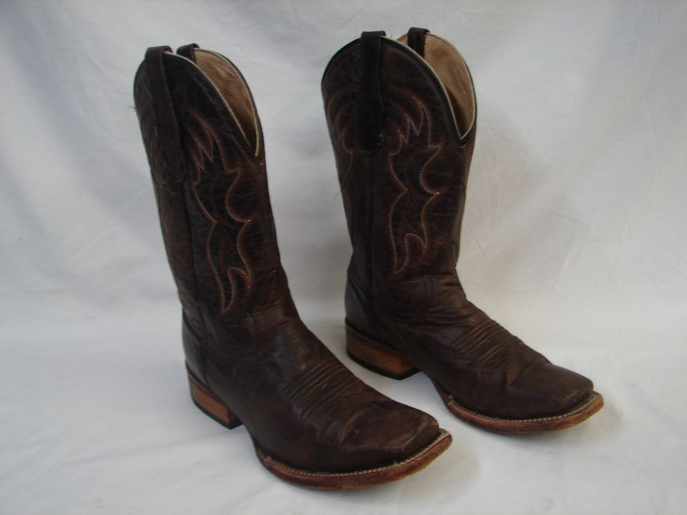 18563fe00e9 CIRCLE G BY CORRAL MEN'S SQUARE TOE WESTERN COWBOY BOOTS BASIC ...