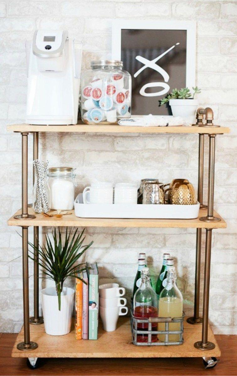 Kitchen Coffee Bars - 30+ DIY Kitchen Coffee Area Ideas | Coffee ...