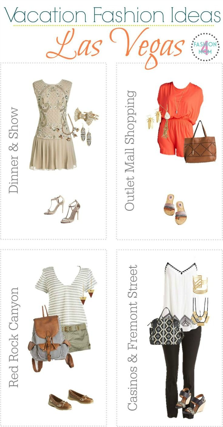23 Las Vegas Inspired Vacation Outfits - Fashion For Women