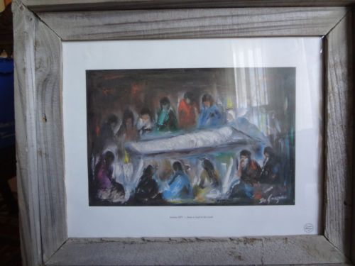 Degrazia Station Of The Cross Watercolor Print Framed L At At K Station