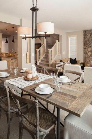Restoration Hardware Flatiron Dining Table Rustic Dining Room