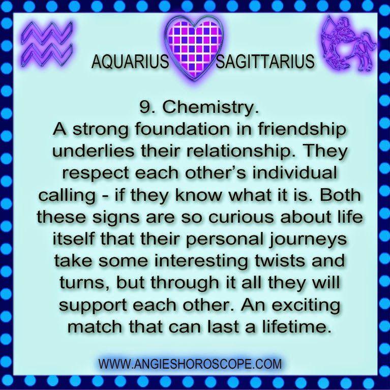 Aquarius sagittarius compatibility