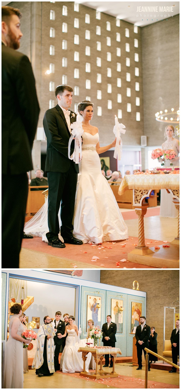 Greek Orthodox wedding ceremony at St Maryu0027s