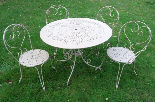 Iron Furniture Avec Images Salon De Jardin Fer Forge Meuble Fer
