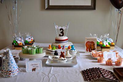 Brown Bear, Brown Bear themed birthday