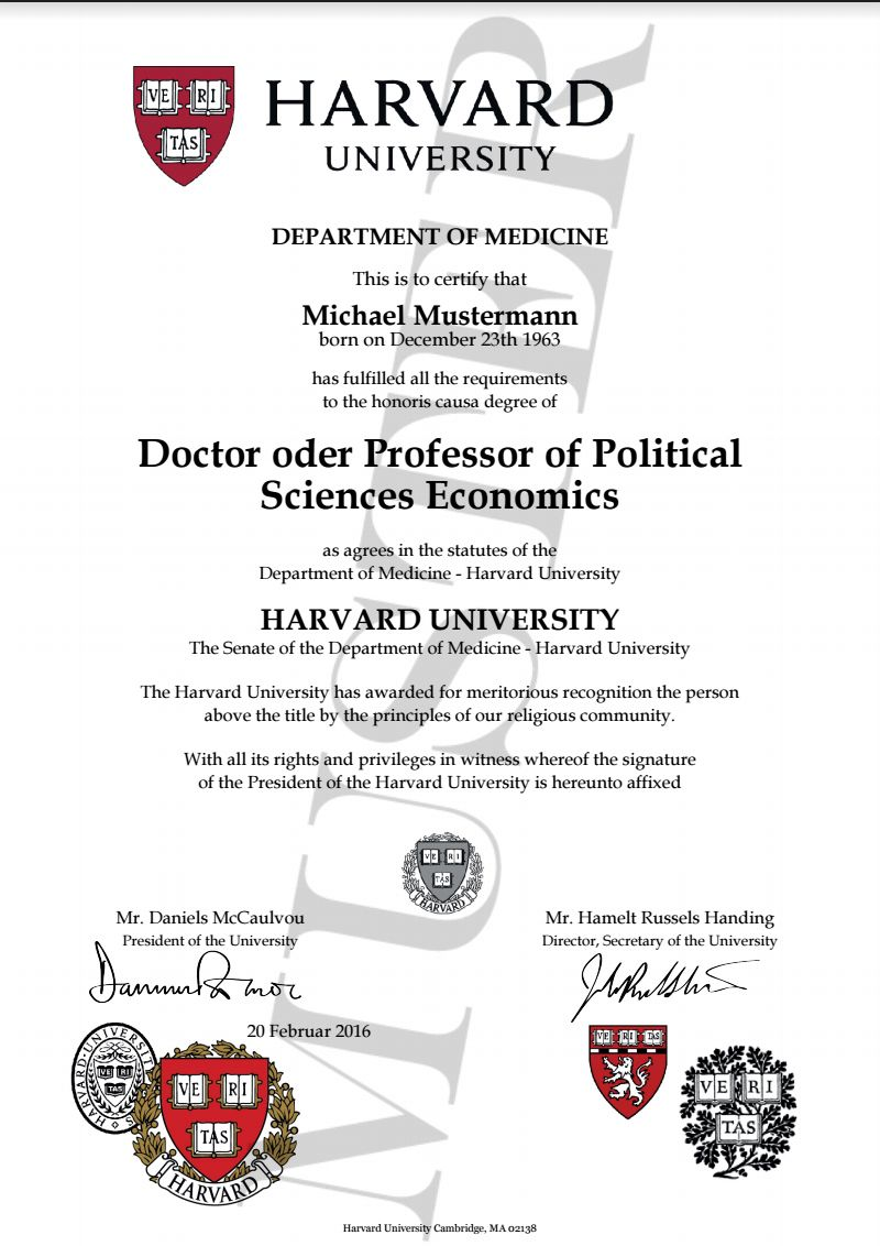 image result for harvard university document layout