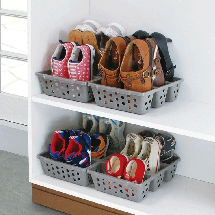 Aliexpress Com Comprar Caja Del Cajon De Acabado De Zapatos Caja De Zapatos Percha Como Organizar El Armario Almacenamiento De Calzados Organizador De Zapatos