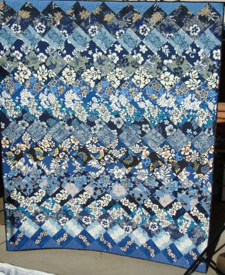 Hawaiian shirt quilt via Deb Rowden's Thrift Shop Quilts: Rosie's ... : hawaiian shirt quilt pattern - Adamdwight.com