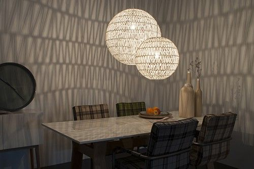 Eetkamer Lamp Design : Zuiver cable60 lamp geeft door zijn geweven structuur een mooi