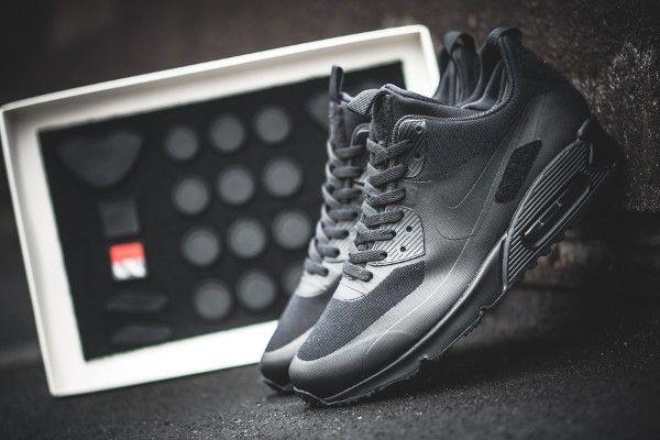 best website 10fe5 94578 Nike Air Max 90 Sneakerboot Patch Black (noir) (1)