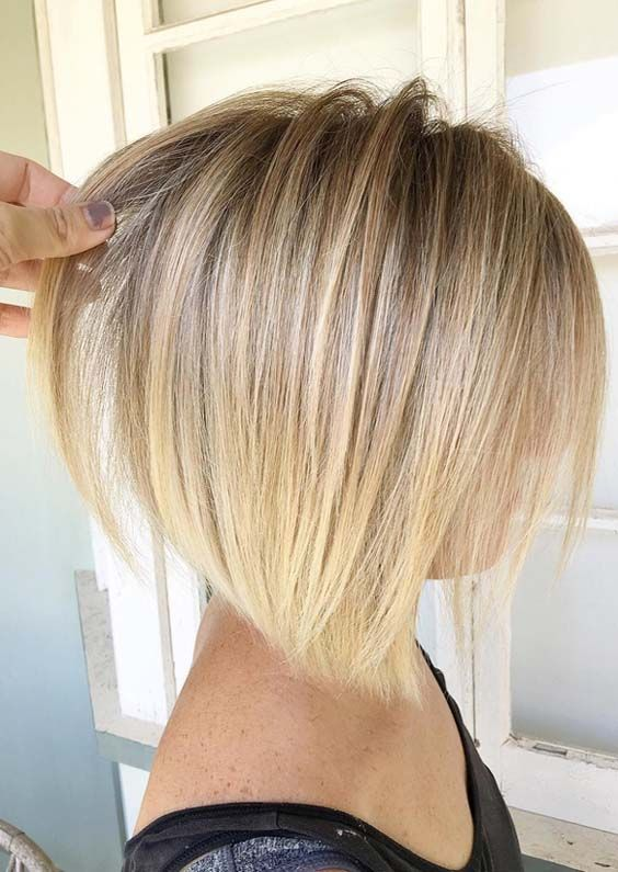 See Here And Choose The Best Shades Of Blonde Hair Colors To Sport With Your Short Hair Looks Whether You Want To Ch Thin Hair Haircuts Hair Styles Wispy Hair