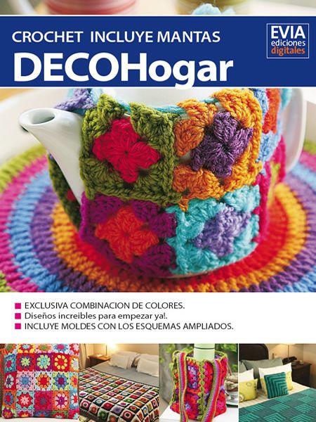 DecoHogar y Mantas al Crochet | штучки | Pinterest | Manta y Tejido