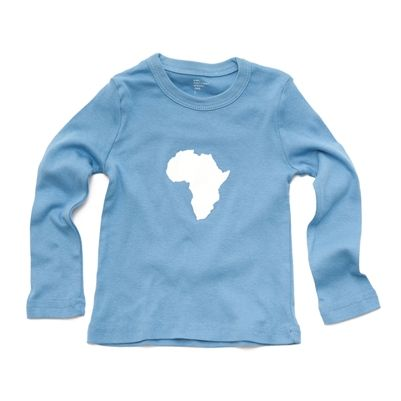 Continent Africa Toddler T-shirts (size 2, 4, & 6).