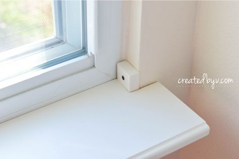 DIY: Removable Window Shelf for Plants - created by v.