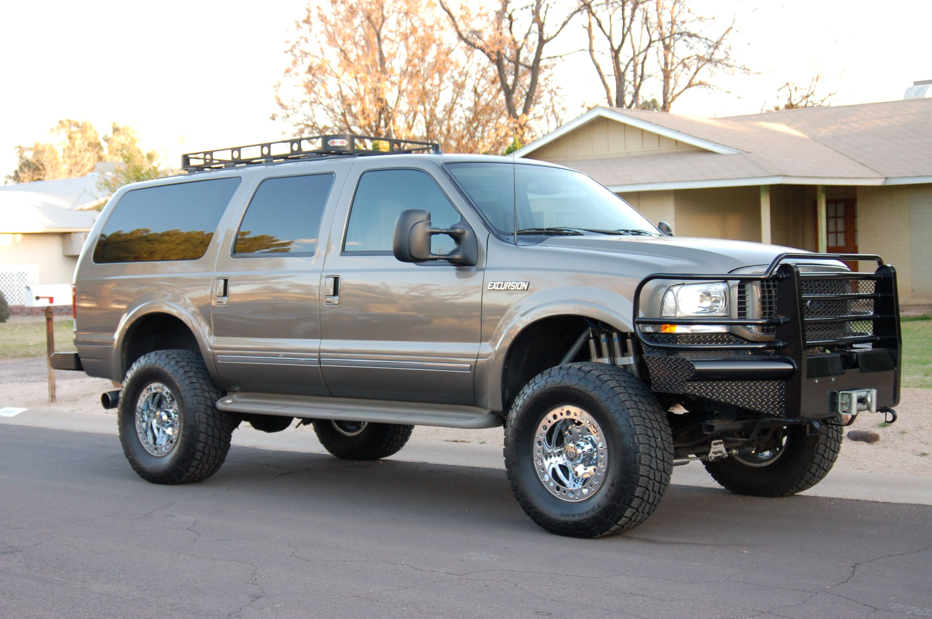 Ford Excursion Pictures Information And Specs