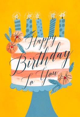 Cake Time Birthday Card Free Greetings Island Editable Birthday Cards Virtual Birthday Cards 18th Birthday Cards