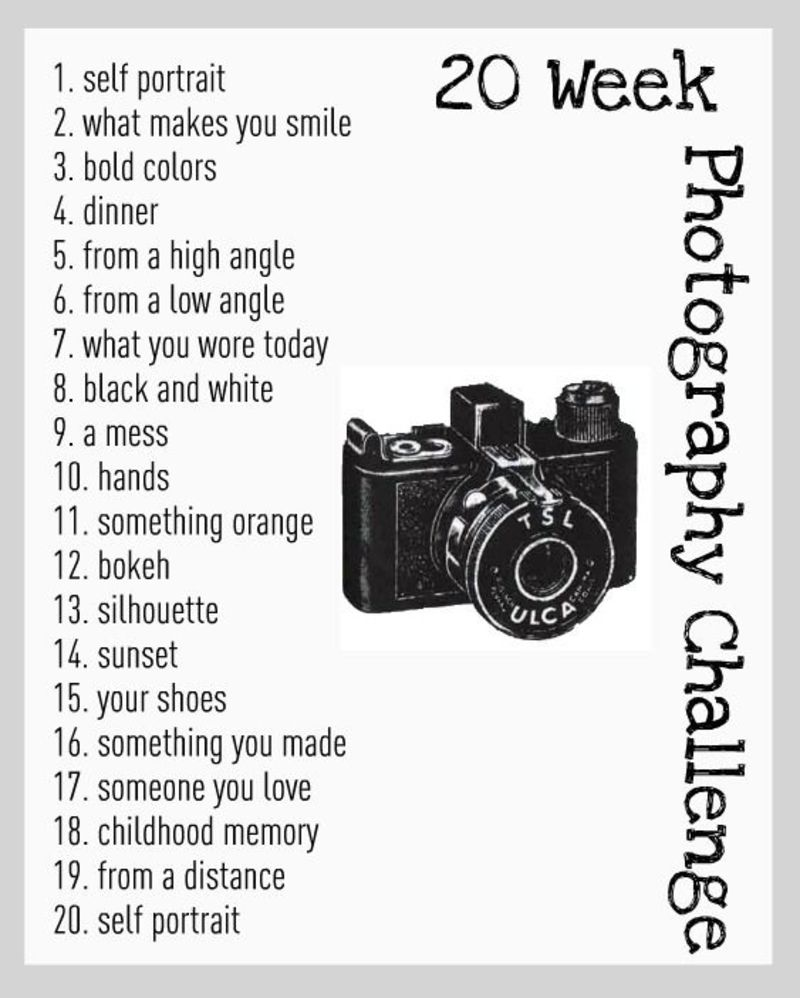 #Ready, Set, Click! 37 Photo Challenges for 2015