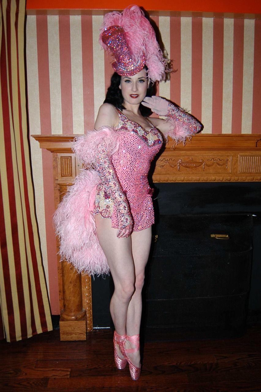 Dita's Carousel Horse Rider costume. Note the rhinestones on the toe shoes.