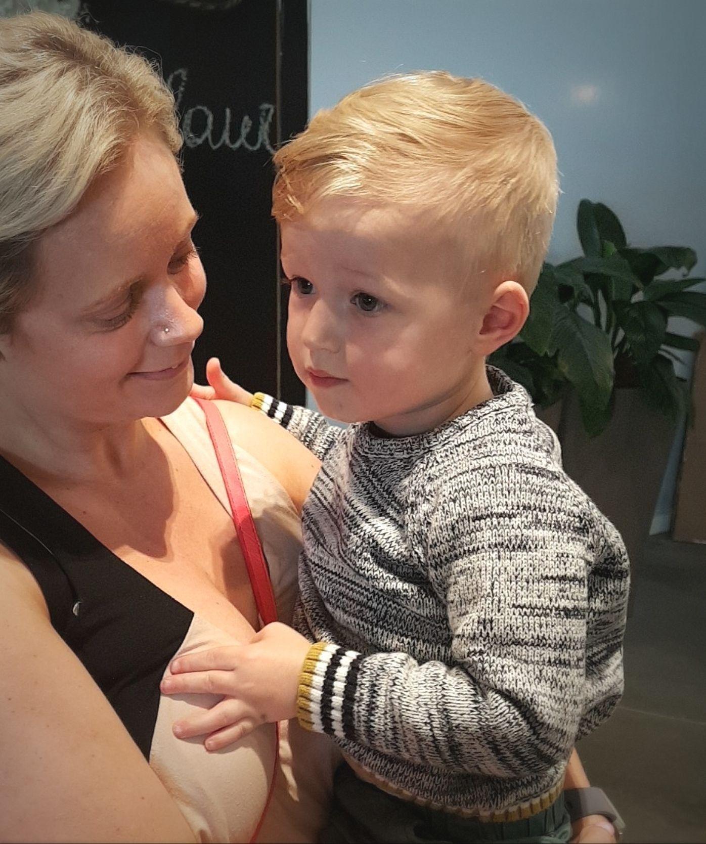 trendy boy's haircut baby boys haircut 2018 blonde blue eyes stylish
