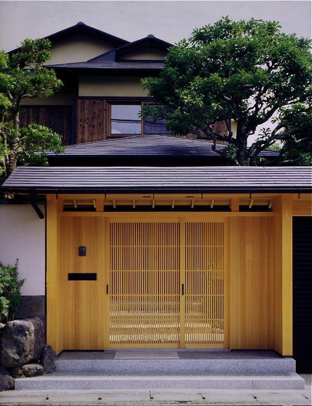 Japanese Gate 和風の家の設計 日本のモダンな家 伝統的な家