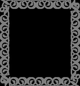Silver Swirl Border Clip Art Vector Clip Art Online Royalty Free Public Domain Clip Art Clip Art Borders Silver Swirl