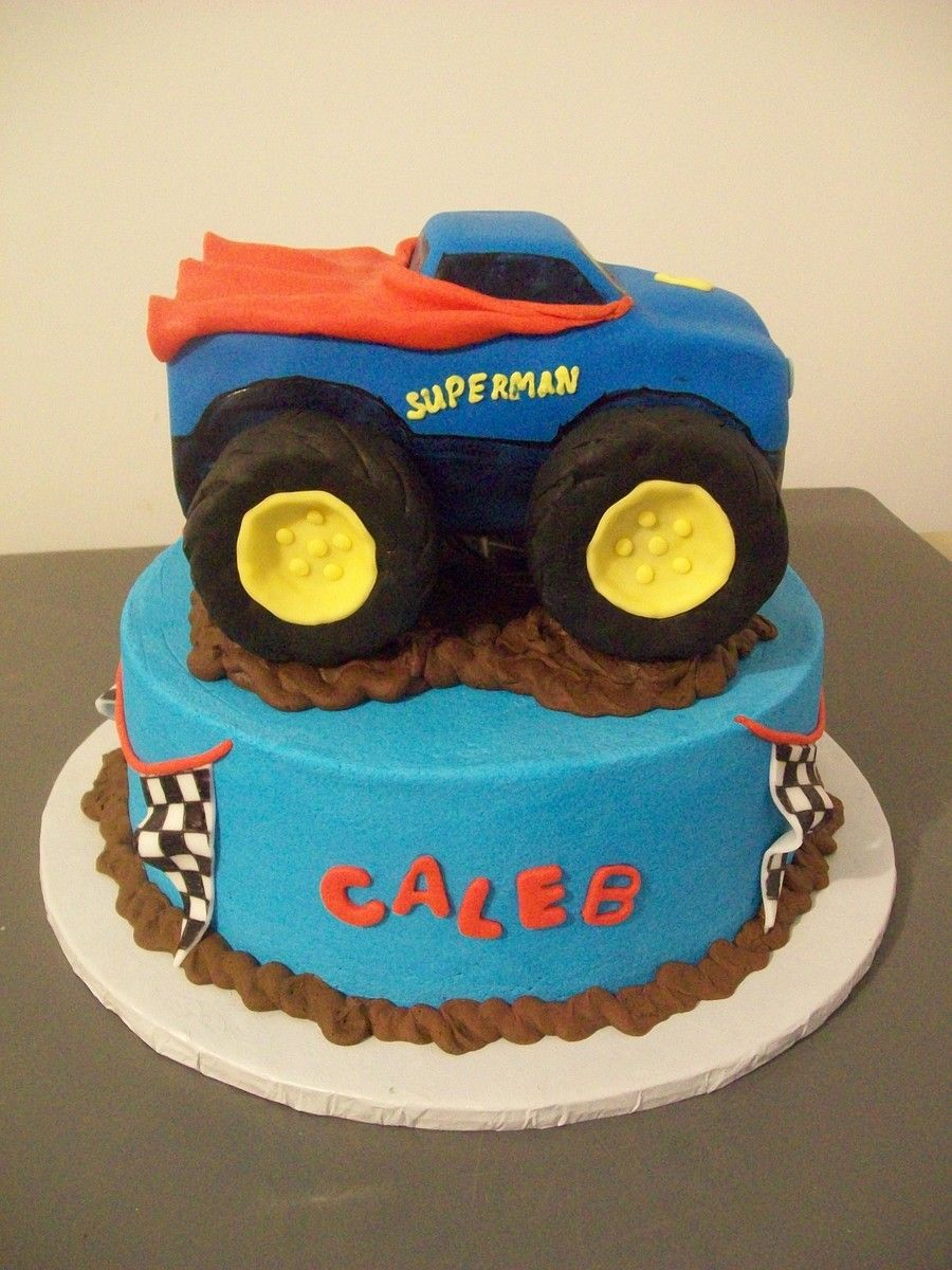 Pin by Katie McGuire on Cakes in 2019 Monster trucks