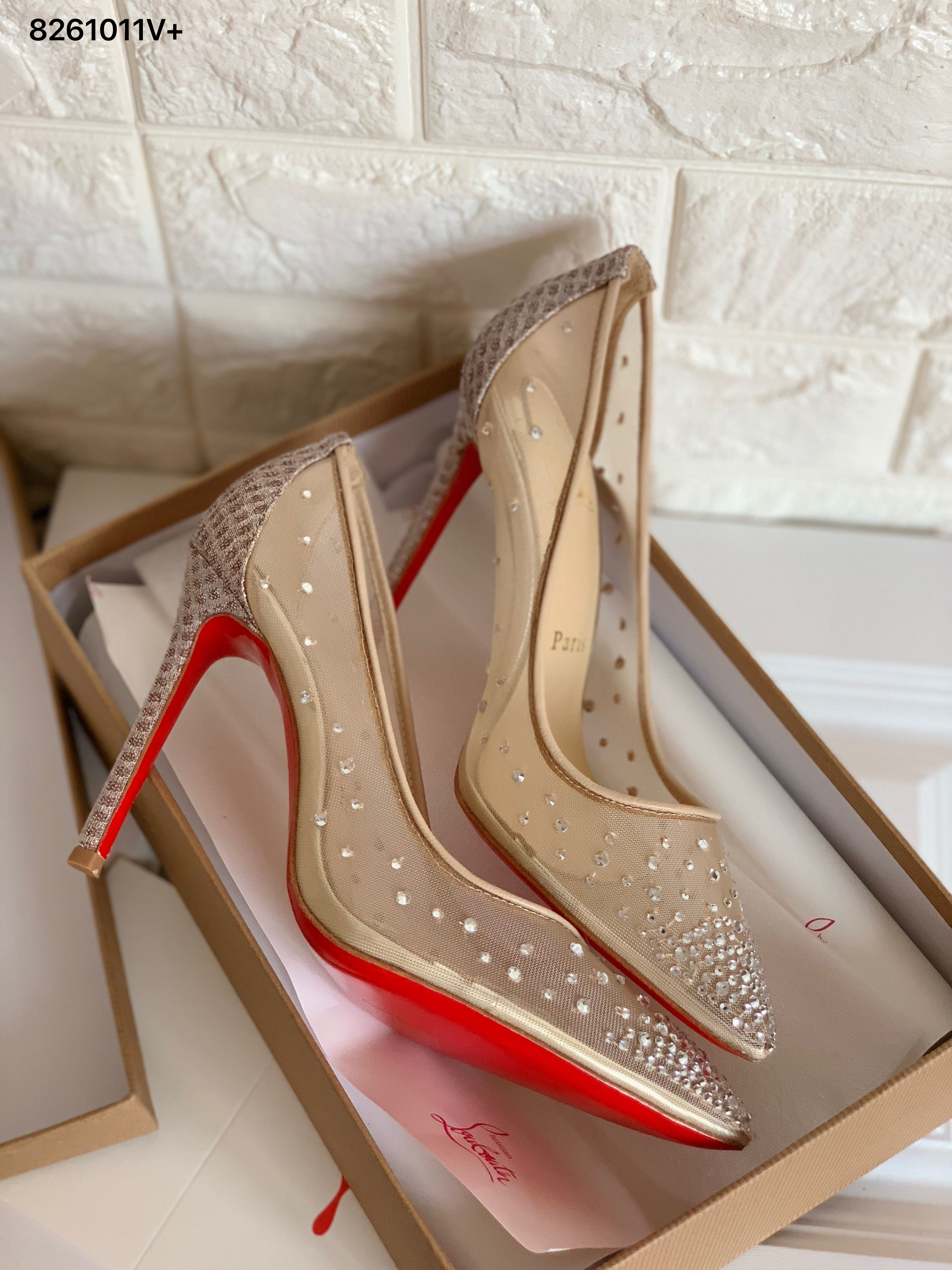 Heels, Christian louboutin shoes, Women