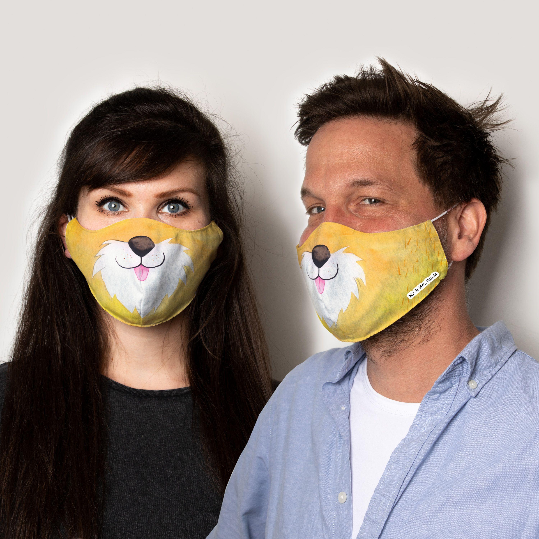 Größe M Mund und Nasenmaske zum selber nähen Fuchs in